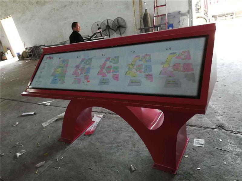 西安四海唐人街文化商业街区标识标牌设计制作