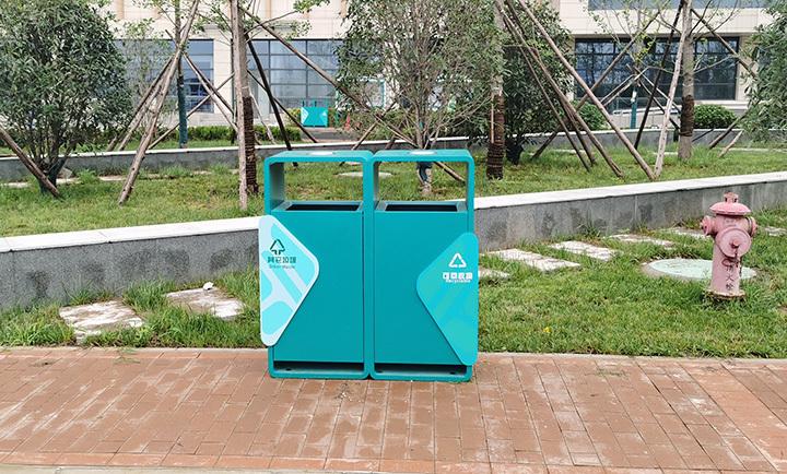 西安垃圾箱制作厂家医院垃圾箱制作